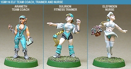 Gridion Elf Coach, Trainer And Nurse