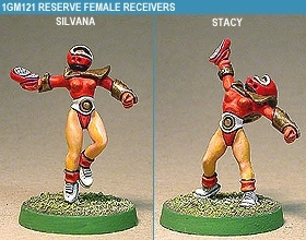 Gridiron Reserve Female Receivers