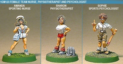 Gridiron Female Nurse, Physio And Psychologist