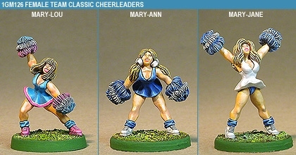 Gridiron Female Team Classic Cheerleaders