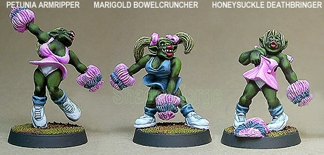 Gridiron Orc Cheerleaders