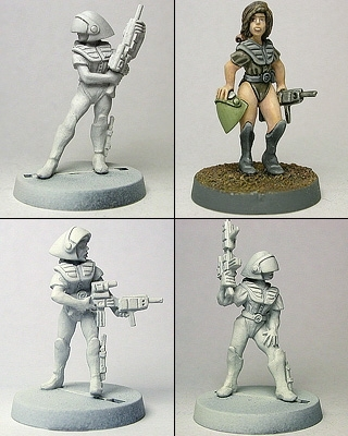 Marine Scout Trooper Pack #1