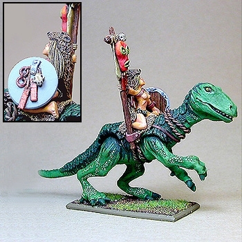 Tribal Heavy Cavalry Totem Bearer