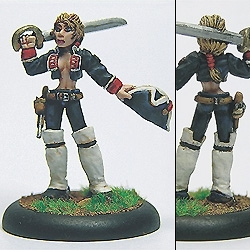 Lady Janes Rifles - Sgt Hakeswell