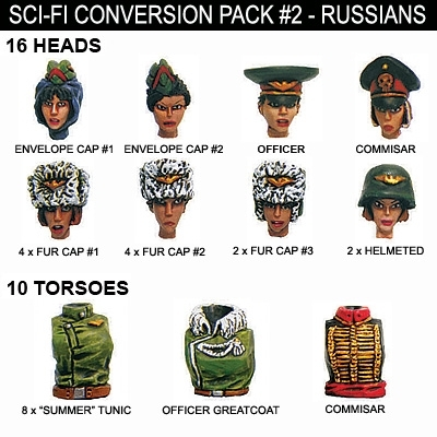 Sci-Fi Conversion Pack #2
