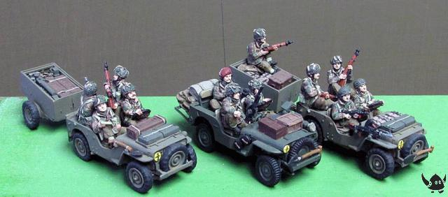 WWII UK Airborne Jeeps