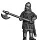 Saracen two handed axe-man on foot