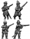 Ural Cossacks, dismounted, skirmishing