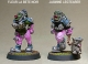 Gridiron Female Orc Linebackers