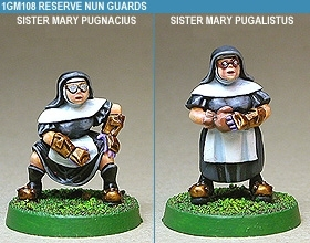 Gridiron Reserve Nun Guards