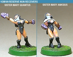 Gridiron Reserve Nun Receivers