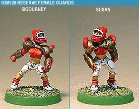 Gridiron Reserve Female Guards