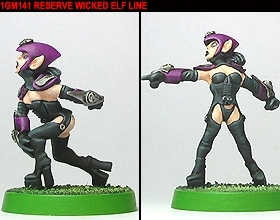 Gridiron Reserve Wicked Elf Line