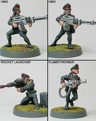 Politburo Elite Guard Support Weapons